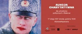 Aukcja charytatywna dla uchodźców politycznych z Białorusi